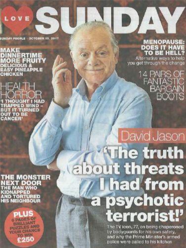 COVERS – David Jason
