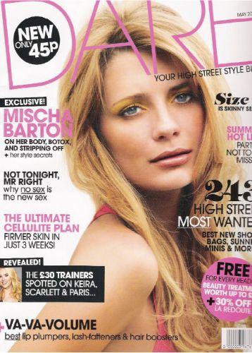 COVERS – Mischa Barton