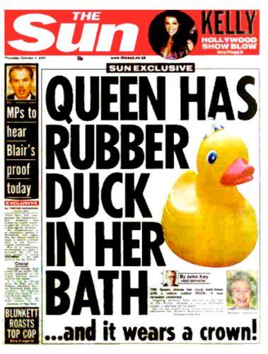 COVERS – Queen Rubber Duck