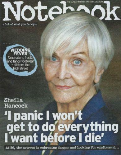 COVERS –  Sheila Hancock