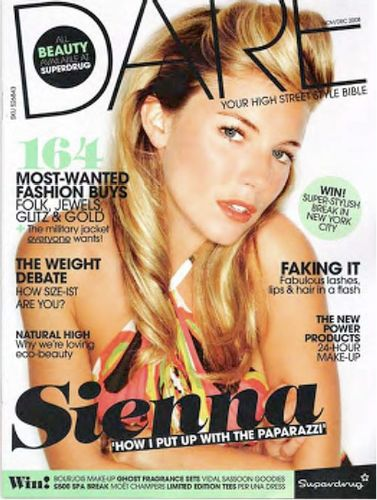 COVERS – Sienna Miller