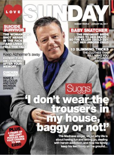 COVERS – Suggs