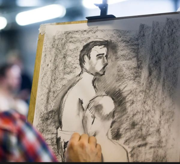 FIRST PERSON – Life Drawing
